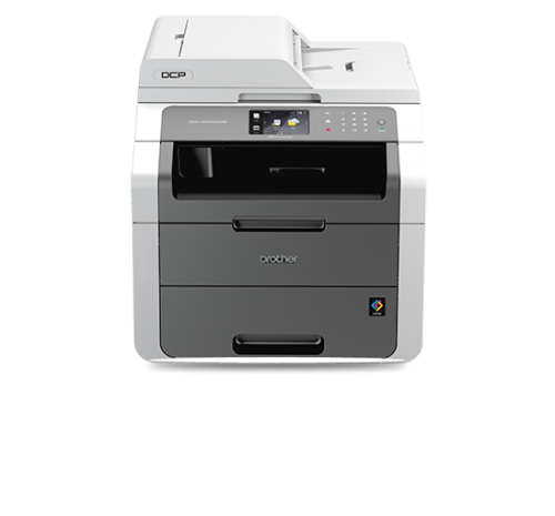 Brother Colour Laser Multifunctional Duplex A4 Printer with Wired and Wi-Fi Network Ref DCP9020CDW