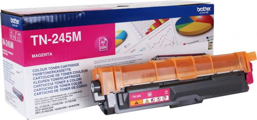 Brother TN245M Magenta Toner 2.2K