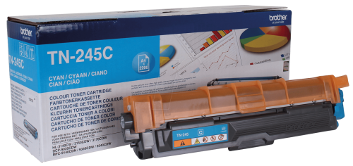 Brother TN245C Cyan Toner 2.2K