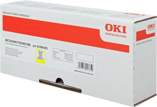 OKI 45396301 Yellow Toner 6K