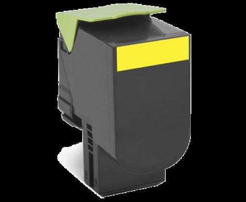 Lexmark 80C2SY0 802SY Yellow Toner 2K
