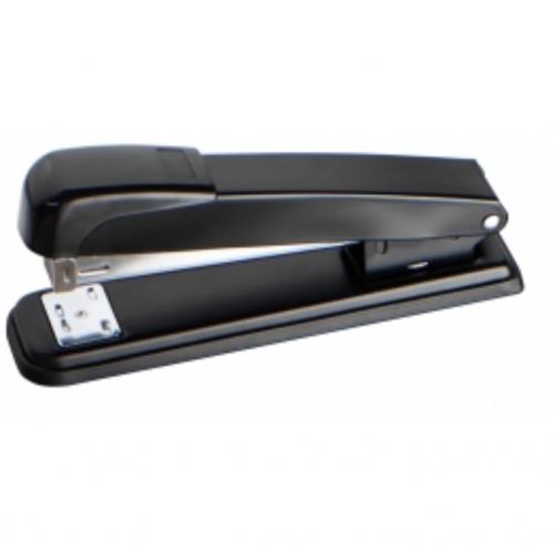 Value Stapler Half Strip Metal Black