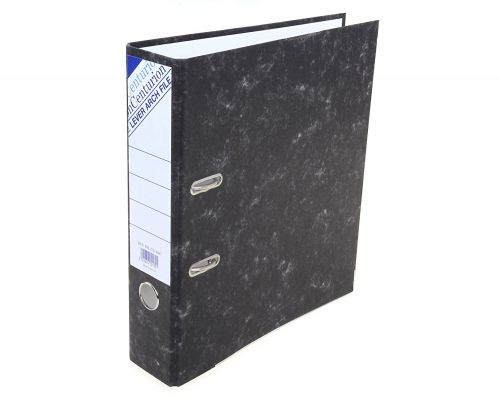 Centurion Lever Arch File Paper on Board A4 70mm Spine Width Cloud (Pack 10)