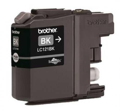 Brother LC121BK Black Ink 7ml