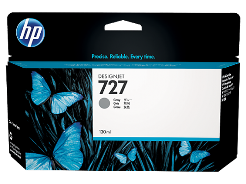 HP B3P24A 727 Grey Ink 130ml