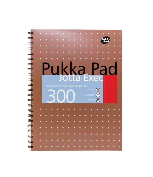 Pukka Metallic Jotta Executive A4 Copper Pack 3