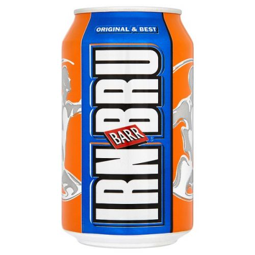 Irn Bru 330ml Cans (Pack 24)