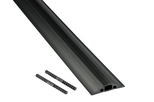 D-Line Black Floor Cable Cover 14x8mm