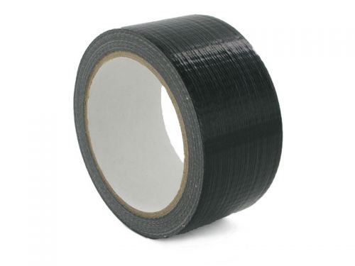Value Waterproof Cloth Tape 48mmx50m Black PK1
