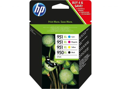 HP C2P43AE 950XL 951XL Ink Multipack 53ml and 3x 17ml