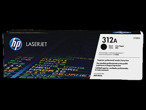 HP CF380A 312A Black Toner 2.4K