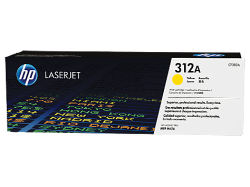 HP CF382A 312A Yellow Toner 2.7K