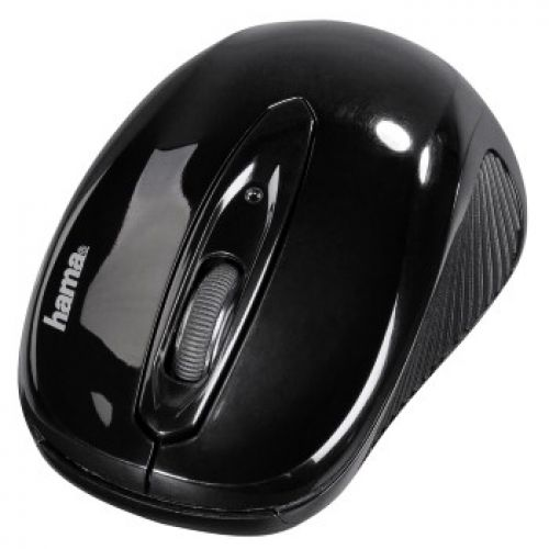 Hama MW-300 Mouse Three-Button Scrolling Wireless 2.4GHz Optical Range 8m Both Handed Ref 00182620