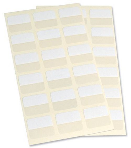 3L Index Tabs Self Adhesive 25mm White 10511 (PK72)