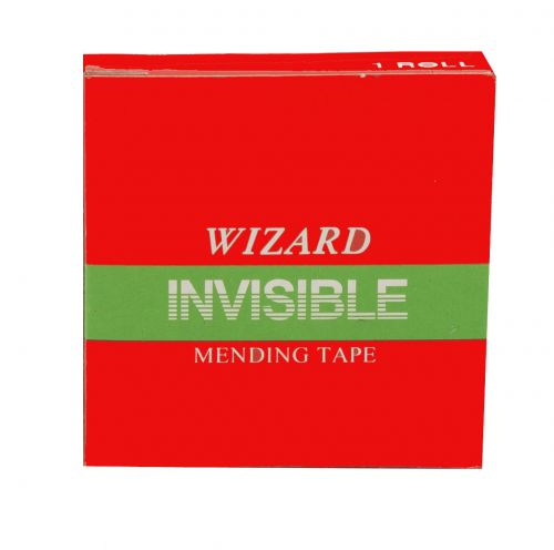 Value Wizard Clear Invisable Tape 24mm X 66m PK6
