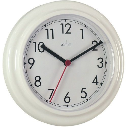Image for Acctim Stratford Wall Clock 23cm White