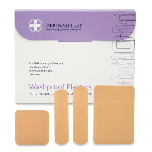 Reliance Dependaplast Washproof Plasters Assorted Size PK100