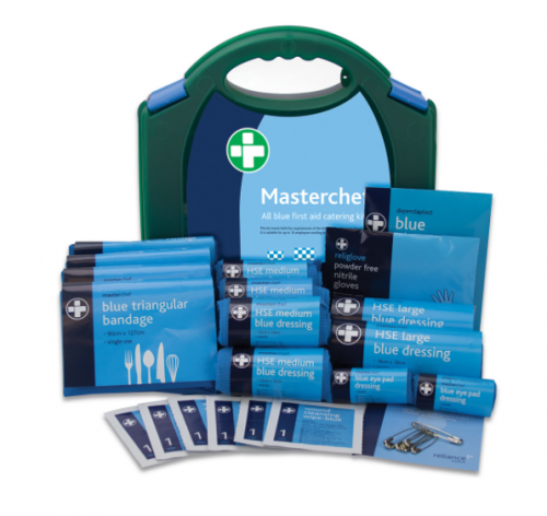 Reliance 10 Person Masterchef Blue First Aid Catering Kit