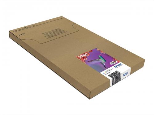 Epson T0807 Multi Pack 6 Colours Easymail
