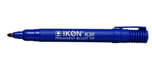 Value Permanent Marker Bullet Tip Blue (PK10)