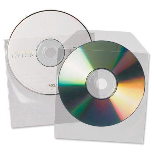 Value 3L CD/DVD Pockets Non-Adhesive 10291 (PK25)
