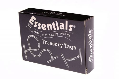 ValueX Treasury Tag Plastic 76mm (Pack 100)