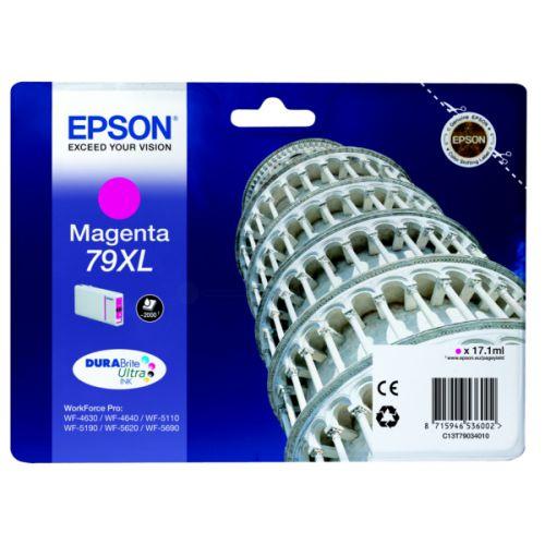Epson C13T79034010 79XL Magenta Ink 17ml