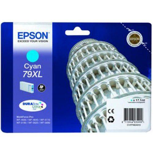 Epson C13T79024010 79XL Cyan Ink 17ml