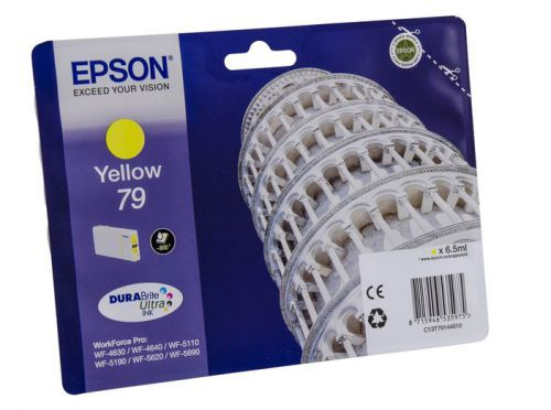 Epson C13T79144010 79 Yellow Ink 6.5ml