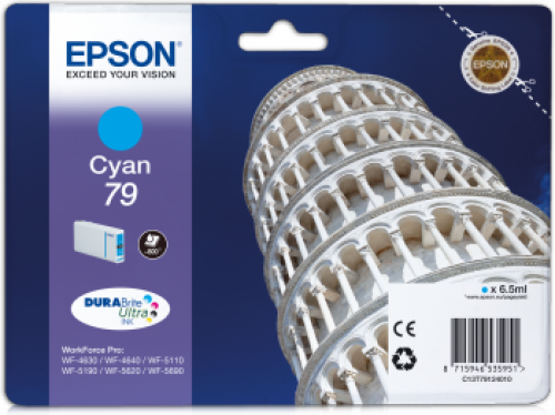 Epson C13T79124010 79 Cyan Ink 6.5ml