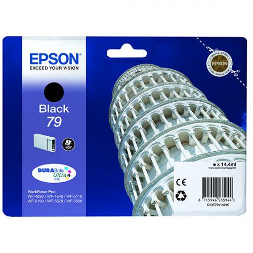 Epson C13T79114010 79 Black Ink 14ml