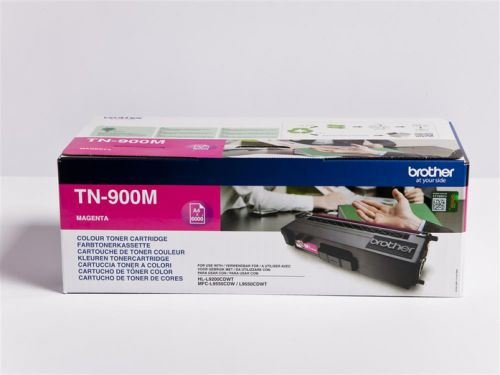 Brother TN900M Magenta Toner 6K