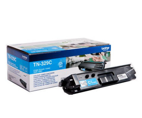 Brother TN329C Cyan Toner 6K