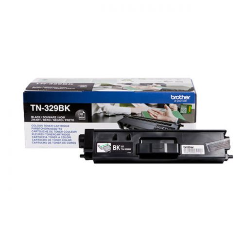 Brother TN329BK Black Toner 6K