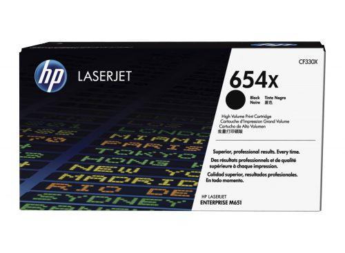 HP CF330X 654X Black Toner 20.5K