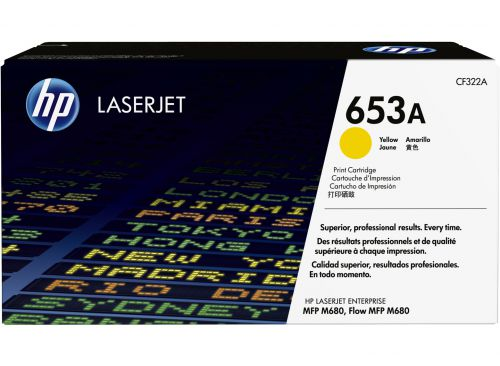 HP CF322A 653A Yellow Toner 16.5K