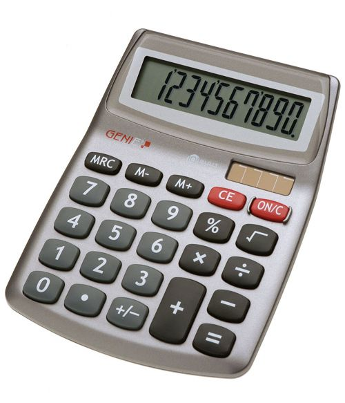 Value Genie 540 10-digit desktop calculator 10272
