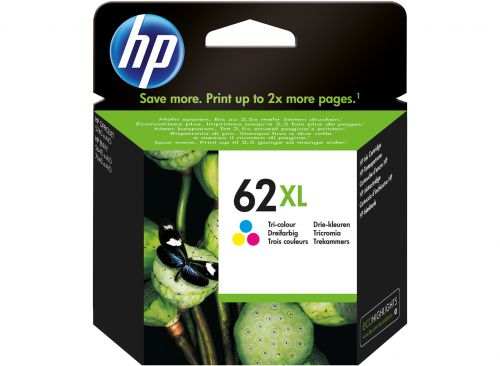 HP C2P07AE 62XL Tricolour Ink 11.5ml