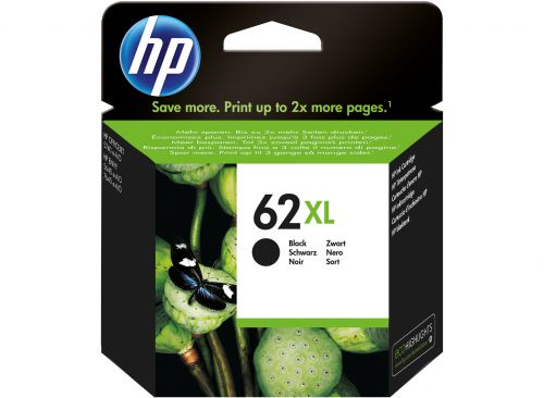 HP C2P05AE 62XL Black Ink 12ml