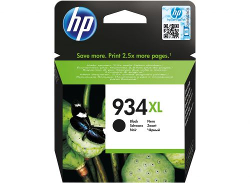 HP C2P23AE 934XL Black Ink 26ml