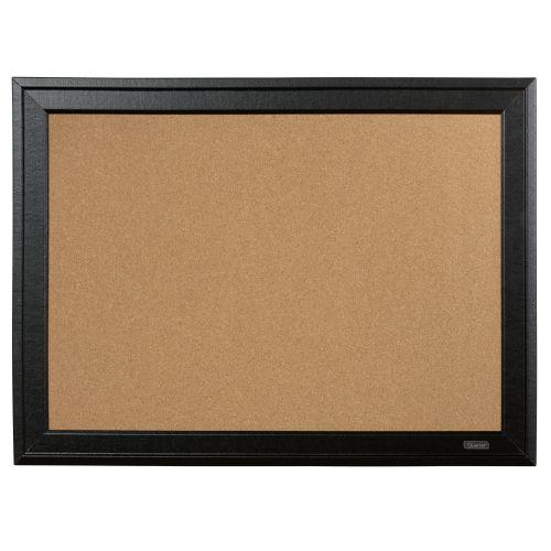 Quartet Cork Board Black Frame 585x430mm