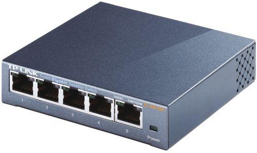 TP Link Unmanaged 5 Port Gigabit Desktop Switch