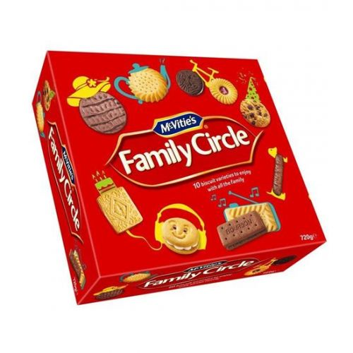 McVities Family Circle Assorted Biscuits 620g