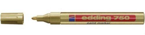 Edding 750 Paint Marker Gold PK10