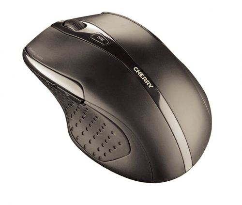 Cherry MW 3000 Five-Button Wireless Mouse 2.4GHz Optical Range 5m Right Handed Black Ref JW-T0100