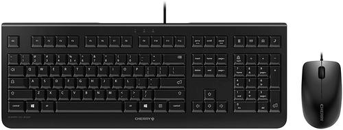 Cherry DC 2000 Wired Keyboard Mouse USB BLACK