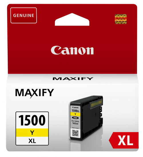 Canon 9195B001 PGI1500XL Yellow Ink 12ml