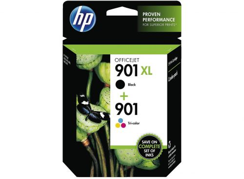 HP SD519AE 901 Black Tricolour Ink 14ml 9ml Twinpack