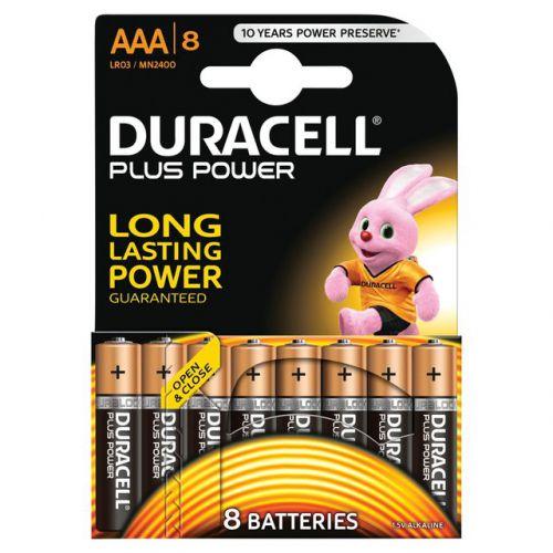 Duracell AAA Batteries PK8