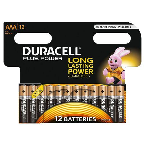 AAA Duracell Batteries PK12